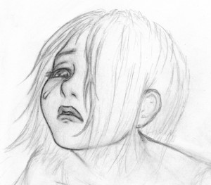 Crying girl 1
